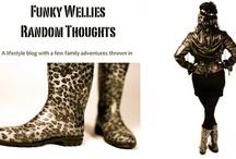 My Random Thoughts / by Katia Funkywellies