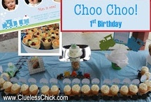 Choo Choo 1st Brithday Party!