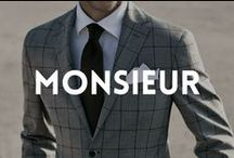 Monsieur Curations for MEN / Lifestyle, fashion, products.. for men. Sophistication meets today's trends. Follow also Skimbaco Lifestyle's men's fashion editor http://www.pinterest.com/ltpreppyglasses/