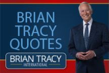 Brian Tracy Quotes / The best inspirational and motivational quotes for success by Brian Tracy.