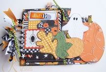 Halloween Layouts, Crafts, & Projects / Here's the place to check out all of our newest Halloween layouts, cards, & crafts.