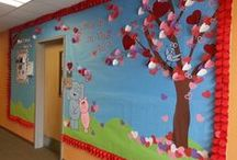 Bulletin / These are my bulletin boards.  I made them.  They are awesome.