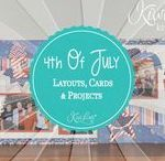 4th Of July Layouts, Cards & Projects