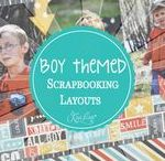 Boy-Themed Layouts, Cards & Projects / A Place to find BOY Layouts, Cards, & Projects.  For your Husband, Son, Father or any other male in your life.