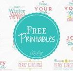 FREE Printables / Grab any of these FREE Printables to use on your Scrapbooking Layouts, Homemade Cards or any Kiwi Lane Project
