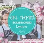 Girl-Themed Layouts, Cards & Projects / Girl Themed Layouts, Cards & Projects - If you have a daughter or are a woman looking for Femine Scrapbook Layouts, Cards, & Projects this is the right place for you!