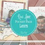 Kiwi Lane Pocket Page Layouts