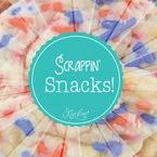 Scrappin' Snacks / We all love to snack as we Scrapbook so check here for some Yummy Scrappin' Snacks!