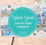 Water-Themed Layouts, Cards & Projects / Water-Themed Layouts, Cards & Projects. Whether it's the Water from a pool or the ocean we want to inspire you with all Water-Themed Kiwi Lane Projects here.