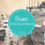 Organize Your Craft Space / This board is all about Organizing Your Craft Space. From clearing out the clutter in your Craft Room to organizing your tools and paper you'll find tips and tricks here on this board.