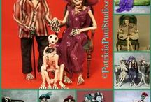 Spooky, and in Miniature /  Haunted Housewares ~ Miniatures By Patricia Paul For your Haunted Doll House or Spooky Attic
