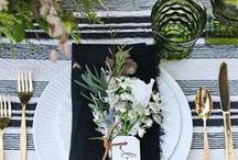 Weddings - Table Settings