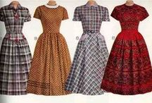 vintage pattern mixing / by Molly Peller