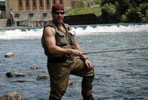 Country Boy Fishing - Michigan Style