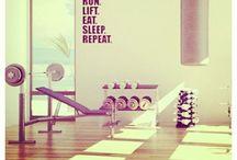 Home Gym / by Dani Ploscik