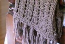 Crafty Ideas: Yarn & Stitchery / Knitting, crochet, embroidery, cross stitch, etc. / by Meredith M.