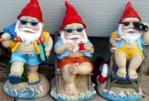 G N O M E S / Hanging with my gnomies