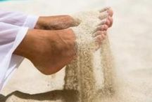 F E E T / Walk as if you are kissing the earth with your feet - Thich Nhat Hanh