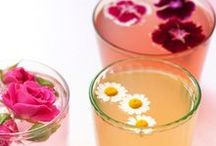 Pretty Drinks / Pretty, stylish and inventive party drinks inspiration.