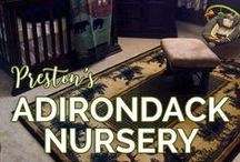 Preston's Adirondack Nursery / Adirondack Nursery, ADK Nursery, Wilderness Nursery, Mountain Nursery Themes / by Dani Ploscik