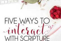 Bible Study / A collection of great tips, resources, inspiration, and encouragement for Bible study.