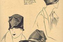 glourious cloche/head wear