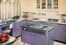 Colorful Kitchen Love: Vintage, Retro, and Mid Century Style