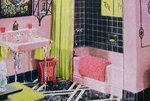 Bathroom Beauties: Vintage,retro, old, and seldom 21st century
