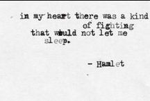 quoted / by Hannah Hill
