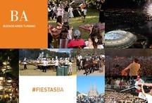 #FiestasBA / Festejos tradicionales y populares de la provincia de Buenos Aires!