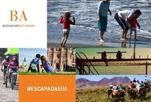 #EscapadasBA / Cerca de las ciudades más importantes, paseos imperdibles para disfrutar todo el año!
