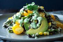 food - vegetarian / Vegetarian cuisine.  / by HASALYN MODINE