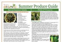 Seasonal Produce Guides