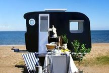 Vintage Travel Trailers / by Barbara ...... Saved By The Grace Of God