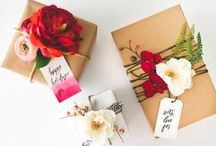 DIY - gift wrapping / Gift wrapping ideas and inspiration