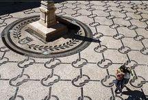 Pavement | Patterns / Patterns in Portuguese Pavement Padrões e texturas em Calçada Portuguesa