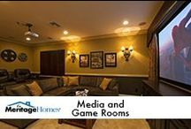 Media and Game Rooms / by Meritage Homes