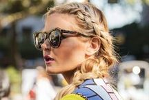 HAIR INSPO / Hair inspiration that makes an outfit so much better! Hair completes the look but it doesn't have to be styled with a curling iron everyday. Try pretty braids and much more.