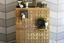 Cabinets, Shelves, Built-ins, Nooks and Cubbies / by Lois Bauman Francis