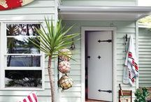 STYLE  - Beach Shack / Beach Shack Travel Style Fashion and Home Decor >> Beach House. Sand. Shells. Wicker. Wood. Santa Monica << Curated by The Travel Tester [thetraveltester.com]