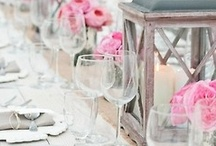 Beautiful party tables