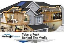 What's in our homes? / See how homes can, and should, be built at The Learning Center by Meritage Homes.