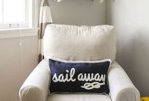 STYLE - Nautical Explorer / Nautical Explorer Travel Style Fashion and Home Decor >> Nautical. Anchors. Ropes. Blue. White. Fishermen. Submarines. Divers. Sea Creatures << Curated by The Travel Tester [thetraveltester.com]