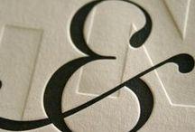 ampersand / I love &