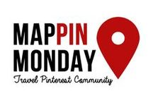 Mappin Monday / MAPPIN MONDAY is the largest resource of quality travel content on Pinterest and a community of travellers looking to take their Pinterest efforts to the next level.