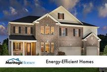 Energy-Efficient Homes / Meritage Homes was the first national builder to make every home built 100% ENERGY STAR® certified.  / by Meritage Homes