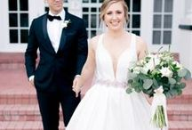Bride and Groom Portraits / Wedding portraits of joyful brides and grooms.