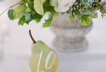 wedding | table numbers