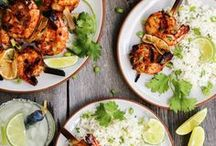 seafood / Easy seafood recipes that don't intimidate, because I'm a pescatarian at heart.