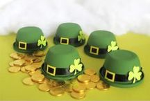 St. Pattys Day Ideas / And booze. Lots of booze. And glitter. / by Stig Mommy